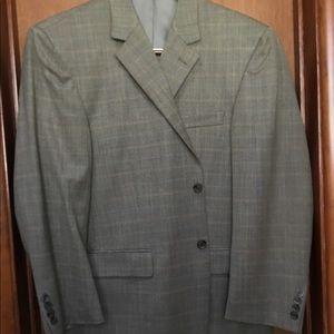Andrew Fezza Men's Blazer Coat 100% Wool 42S.